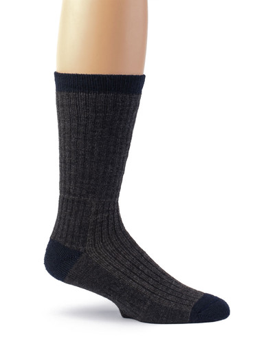 Warrior Alpaca Wool Compression Work Socks - Unisex Side View