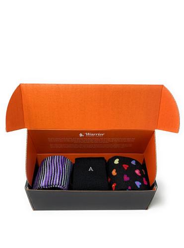 Warrior 100% Alpaca Socks Valentines Day Sweetheart Candy Hearts Gift Box