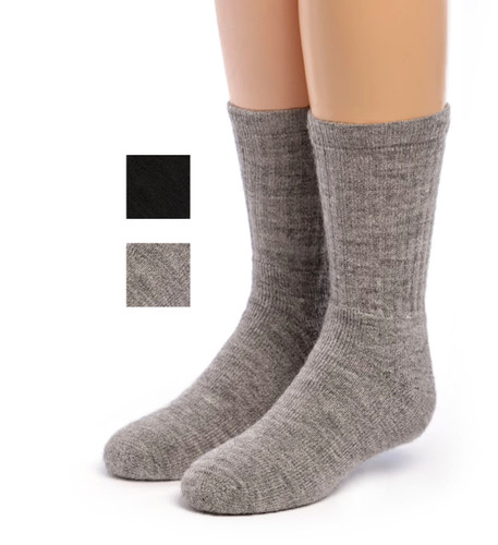 Kids Outdoor Alpaca Socks Main