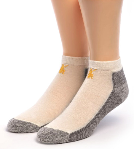 Unisex High Ankle Cushion Crew Socks Alpacas Kiss Picture Casual Sport Socks