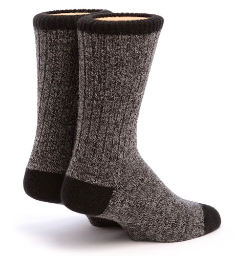 Base Camp Alpaca Socks Back