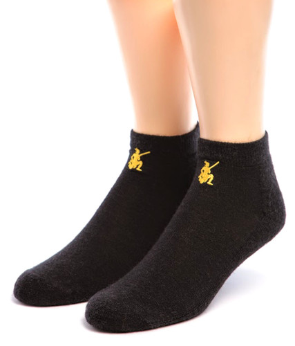 "Non Skid ""Yoga & More"" Alpaca Socks  Front"
