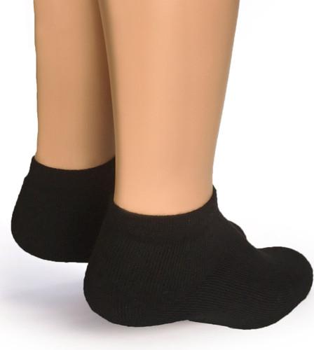 Quarter No Show Alpaca Socks  Back