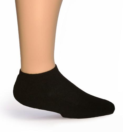 Quarter No Show Alpaca Socks  Side