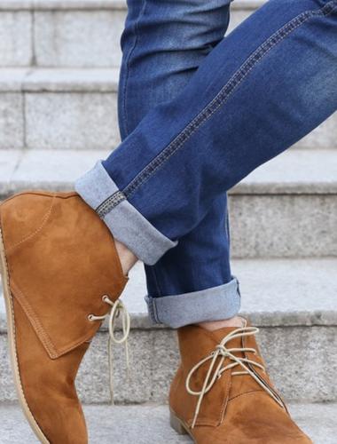 Quarter No Show Alpaca Socks  Men's Ankle boots