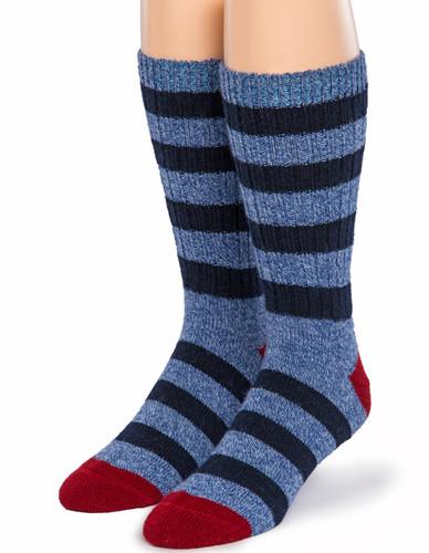 Old School Striped Socks - Front