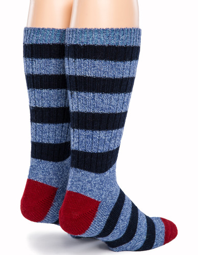 Old School Striped Socks - Back