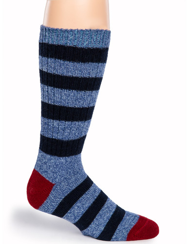 Old School Striped Socks - Side