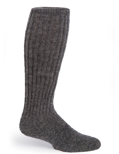 Second to None - Thick Alpaca Wool Boot Socks Side View