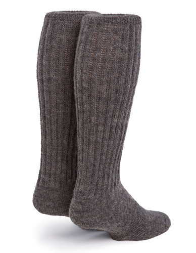 Second to None - Thick Alpaca Wool Boot Socks Back View