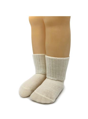 Baby Alpaca Dye-Free Infant & Toddler Socks Folded