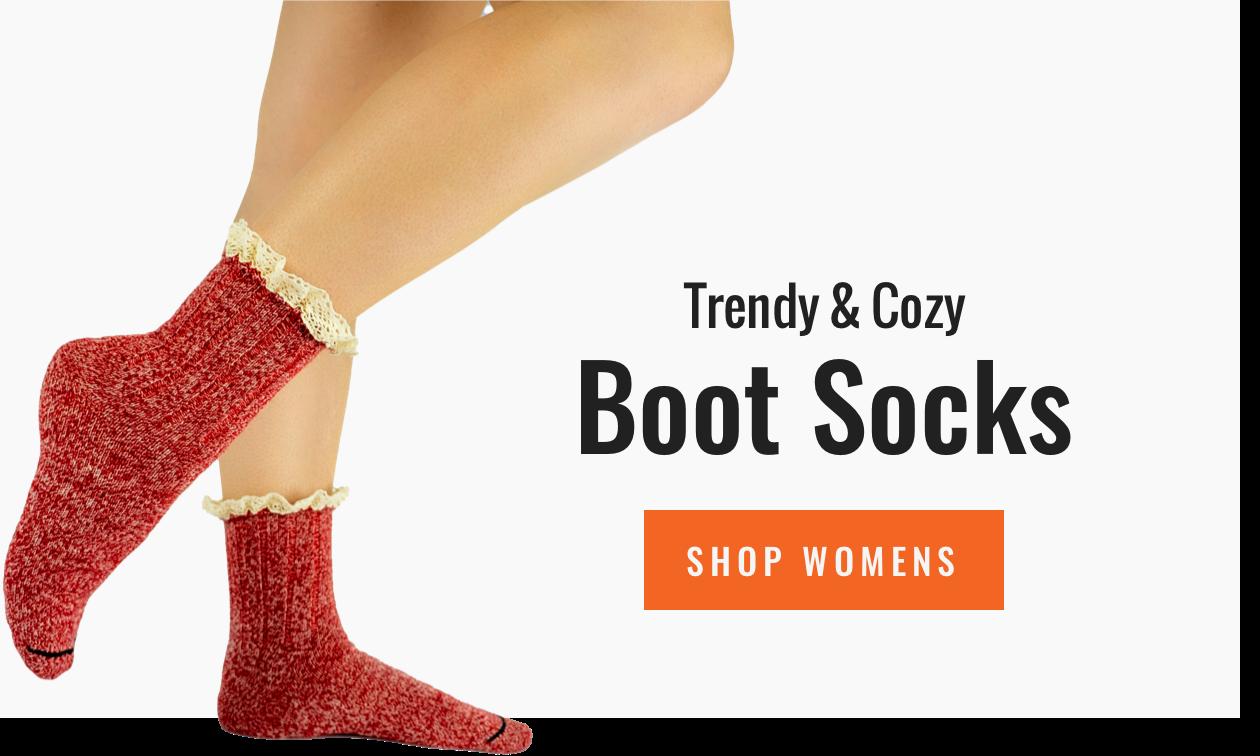Alpaca Boot Socks