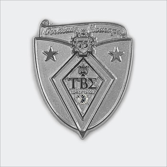 ΤΒΣ 75th Anniversary Pin (Diamond)