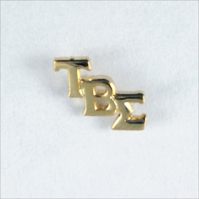 ΤΒΣ Monogram Lapel Pin