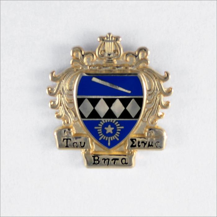 ΤΒΣ Large Crest Recognition Pin