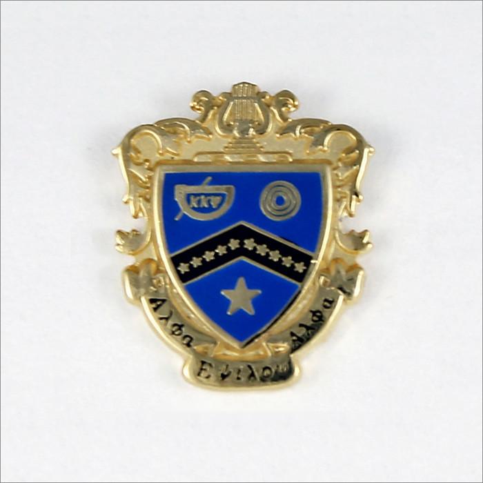 ΚΚΨ Large Crest Recognition Pin