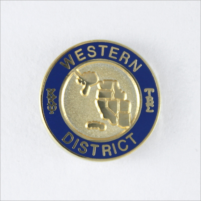 Western District Pin