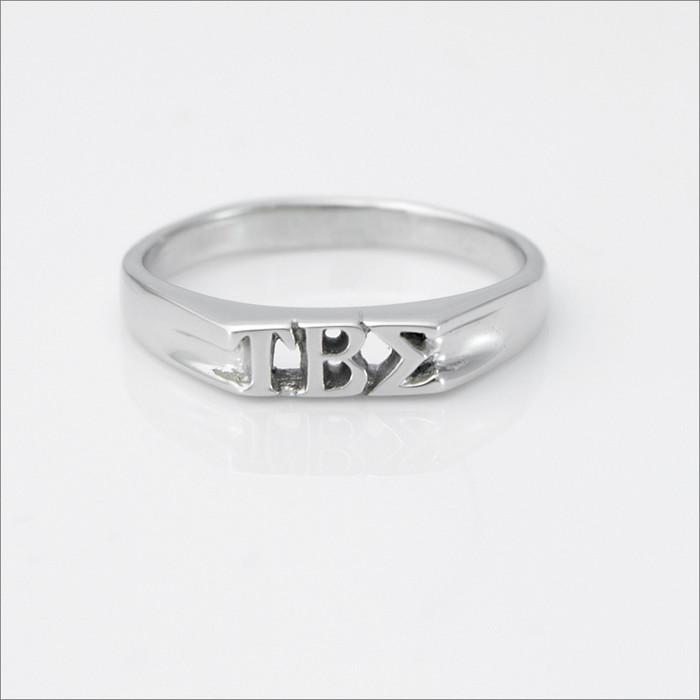 ΤΒΣ Mini Monogram Ring
