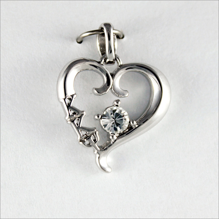 ΚΚΨ Heart Pendant