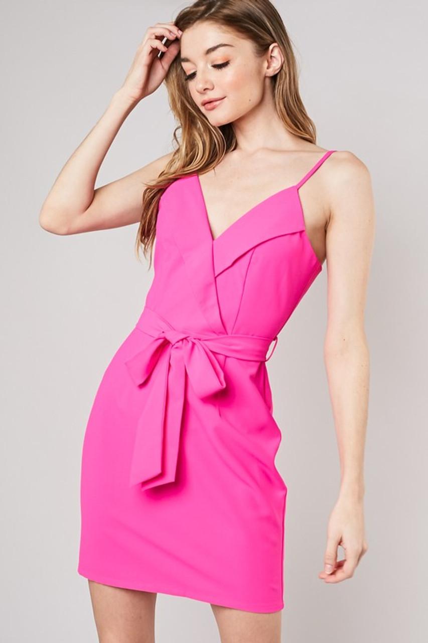 acfa73f444 Neon Pink Dress - Longhorn Fashions