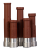 """SMS Contractor Thread Nozzle for Hoses 1"""" ID x 1-7/8"""" OD"""
