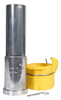 """SDX Flanged w/Qk Cplg Nozzle for Hoses 1-1/4"""" ID x 2-3/32"""" OD"""