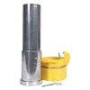 """SFD Flanged w/Qk Cplg Nozzle for Hoses 1"""" ID x 1-1/2"""" OD"""