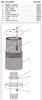 Clemco Exhaust Muffler, Complete