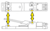 Clemco RLX Remote Control Shoulder Screw - 3/16 inch x 1-1/4 inch