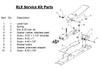 Clemco RLX Remote Control Round Head Screw, 8-32 x 3/8 inch
