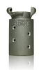 "Clemco CQA-4 Aluminum Quick Coupling for 2-3/8"" OD Hose"