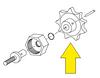 Manual Quantum Valve Adjustment Knob