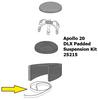24655 Clemco Apollo 20 DLX Padded Suspension Velcro Tape