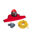 Clemco Apollo 60 HP Supplied Air Respirator with ACV and 50ft. Air Hose