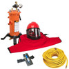 Clemco Apollo 60 HP Supplied Air Respirator with CAT, 50ft. Air Hose and CPF 20 Air Filter