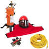 Clemco Apollo 60 HP Supplied Air Respirator with CCT, 50ft. Air Hose and CPF 20 Air Filter