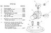 Clemco CPF-20 and CPF-80 Pressure Relief Valve, 125psi, 1/4 inch NPT