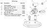 Clemco CPF-20 Pressure Regulator, 3/8 inch NPT, Small Body