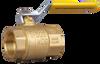 """Clemco 23108, 2"""" Brass Ball Valve"""