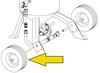 Clemco Axle and Wheel Set for Model 1648 Blast Machine