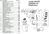 Clemco Apollo 600 HP DLX Supplied Air Respirator Parts