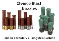 How to Choose the Right Sandblasting Nozzle: Silicon Carbide vs. Tungsten Carbide