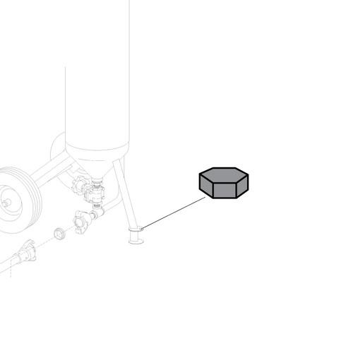 Pool Pal Extension Leg Hex Nut