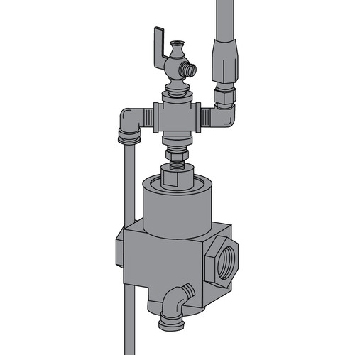 Clemco Pool Pal 1/2 Inch Inlet Valve