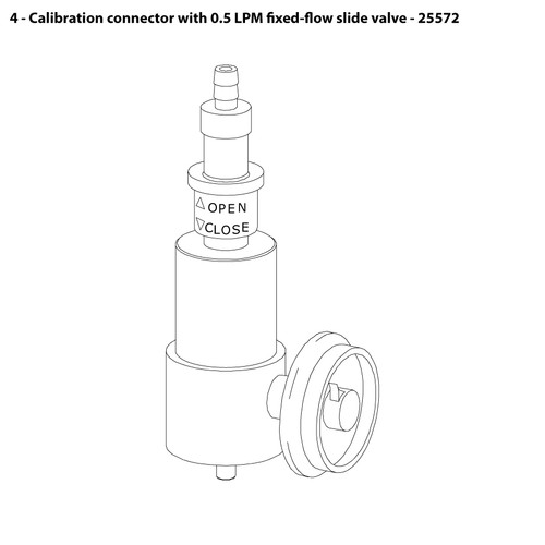 CMS-4 Calibration Connector