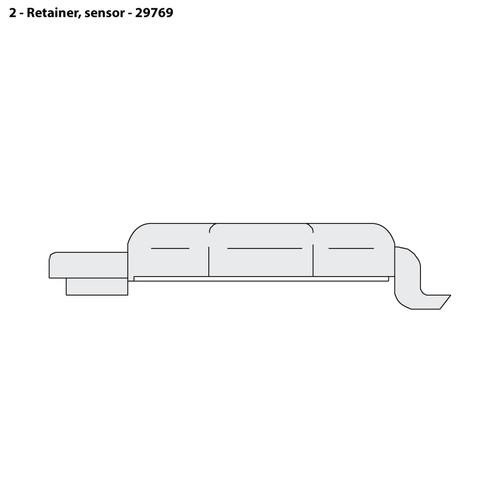 CMS-4 Sensor Retainer