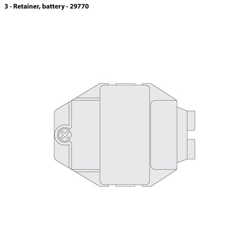 CMS-4 Battery Retainer