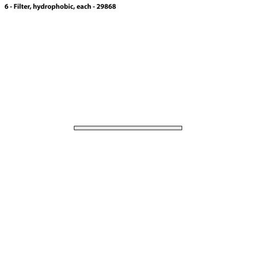 CMS-4 Hydrophobic Filter