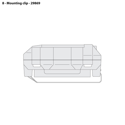 CMS-4 Mounting Clip