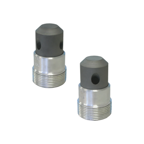 """Clemco CAM 4 x 1 Nozzle, 3/4"""" Entry, 45° outlet angle"""
